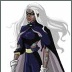 Storm as a Horsewoman.