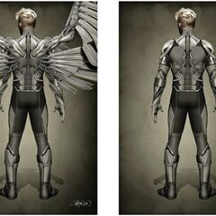 Concept art of Angel