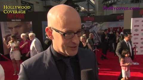 Ant-Man World Premiere Interview - Stan Lee and Peyton Reed