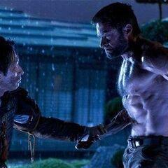 Wolverine battles Lord Shingen