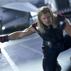 Thor enraged.