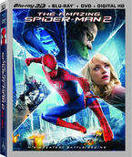 Theamazing spider-man 2 3D blu-ray
