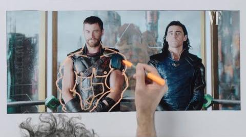 Thor Ragnarok's Director Breaks Down a Fight Scene Notes on a Scene Vanity Fair