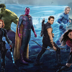 Avengers face-off against Ultron.