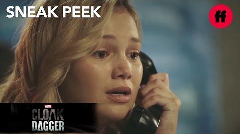 Marvel's Cloak & Dagger Season 1, Episode 7 Sneak Peek Tandy Speaks To Her Dad Again Freeform