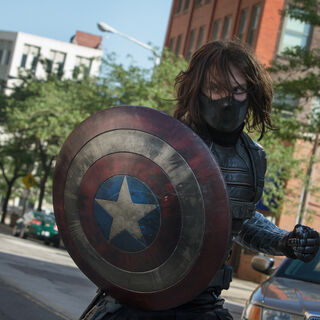 Winter Soldier, one of the best HYDRA assassins.