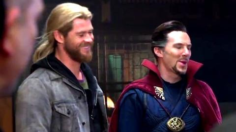 DOCTOR STRANGE End-Credit Scene Promo - Thor Visit (2017) Benedict Cumberbatch, Chris Hemsworth