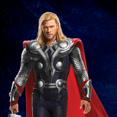 Promotional Russian Poster featuring Thor.
