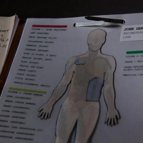 John Garrett, the first Deathlok.