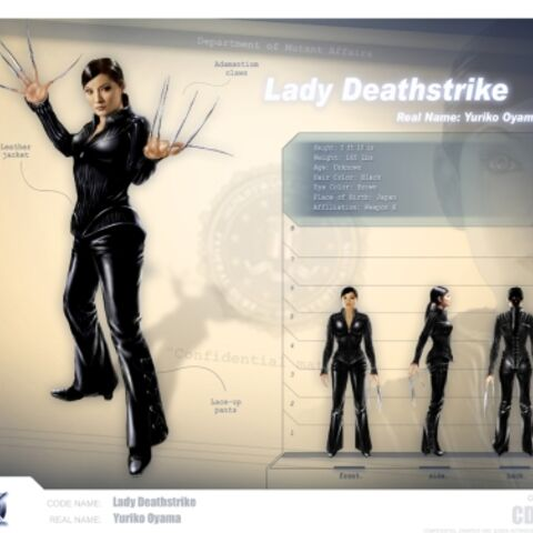 Lady Deathstrike Profile