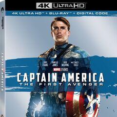 Captain America 4K Blu Ray