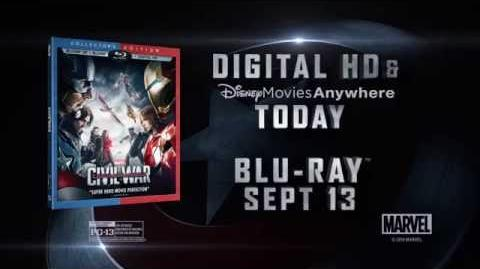 Marvel's Captain America Civil War Arrives on Digital HD Sep 2nd!