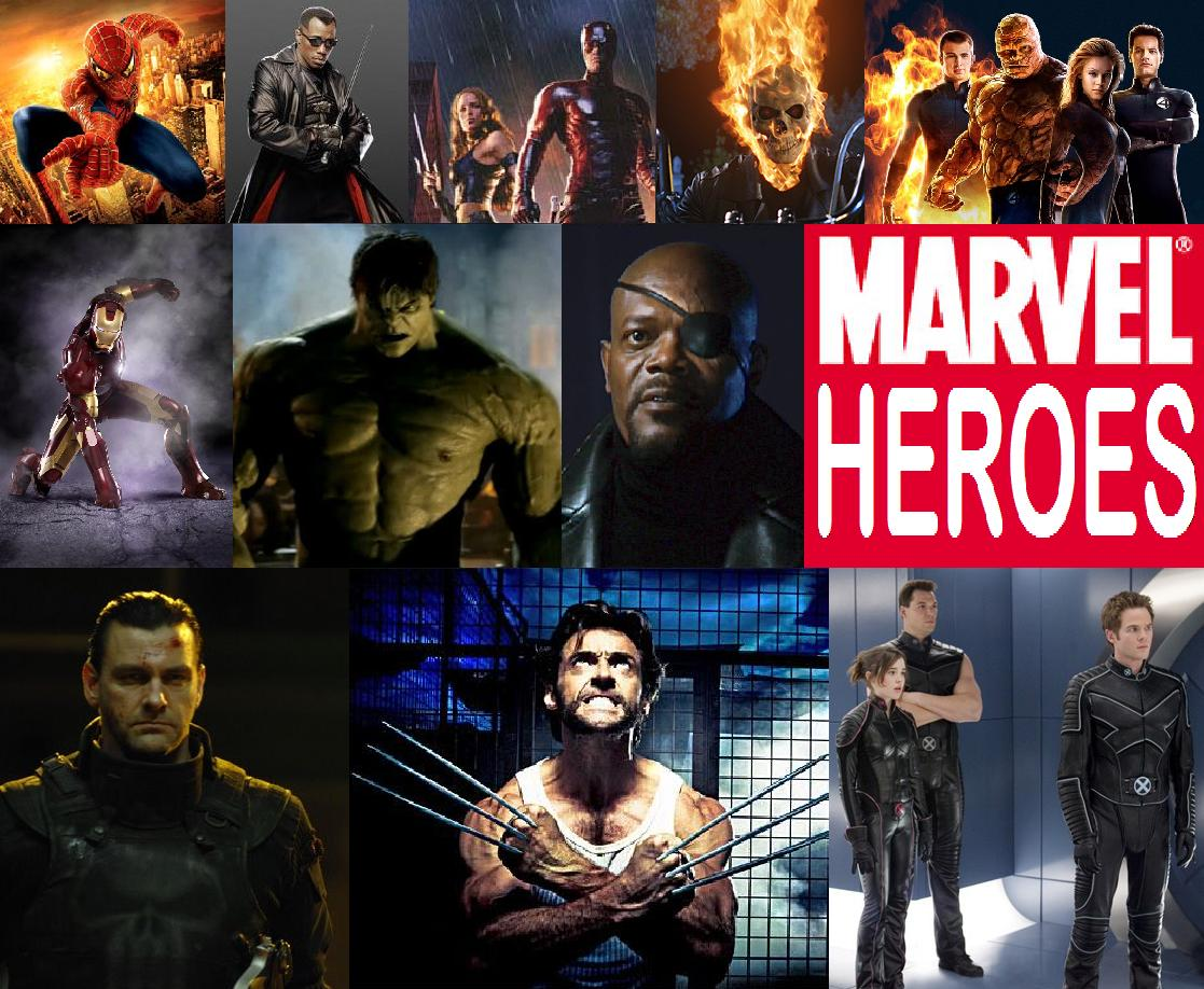 marvel film heroes