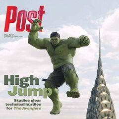 Post magazine cover.