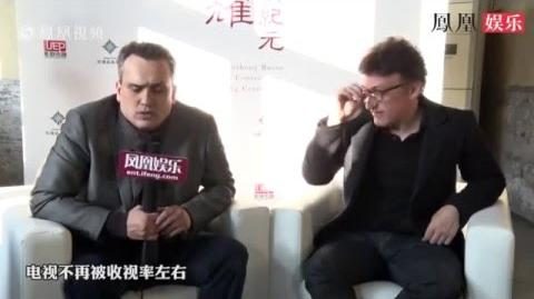 Joe & Anthony Russo Captain America Civil War Interview in China