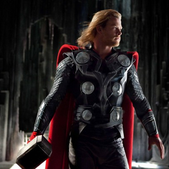 Thor ready to fight.