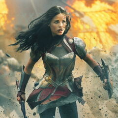Lady Sif Character Poster.