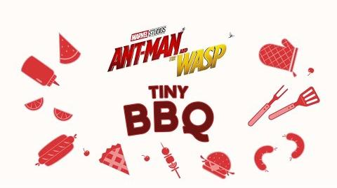 Tiny BBQ Marvel Studios' Ant-Man and The Wasp