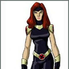Jean as an X-Woman in Xavier's vision.