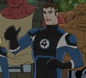 Mister Fantastic (Animated)