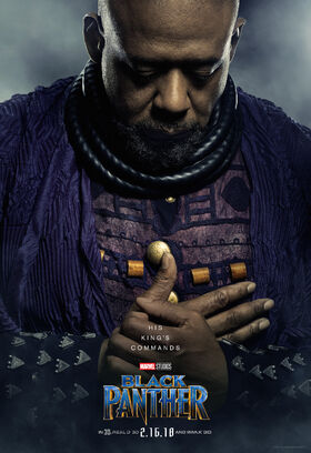 Black Panther Character Posters 06