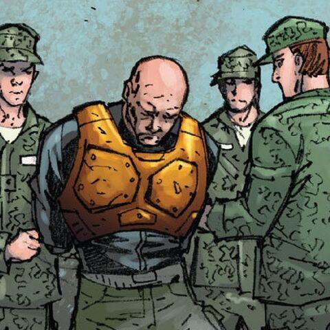 Bruno Horgan taken into Military Custody.