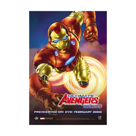 Promotional Poster of Iron Man.