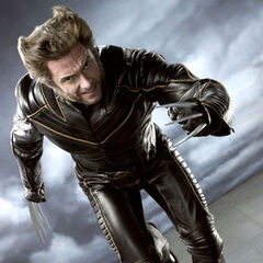 Wolverine in his suit