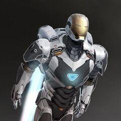 Gemini armor concept art.