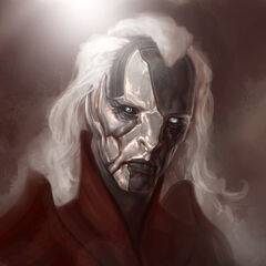 Concept art of Malekith from <i>Thor: The Dark World</i>.