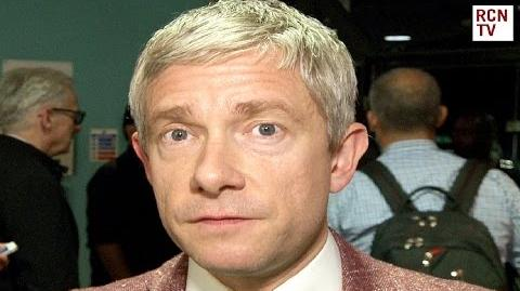 Martin Freeman Interview - Marvel Civil War