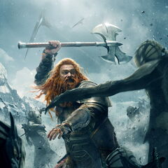 Character Poster: Volstagg.