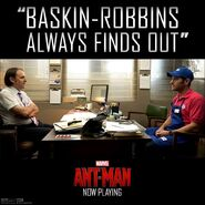Baskin Robins Ant-Man Promo