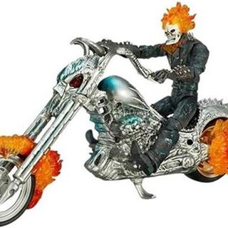 Electronic Flame Cycle Ghost Rider