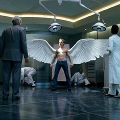 Angel confronting his father.