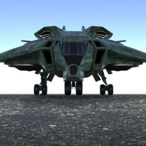 Concept art for the Quinjet