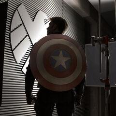 Steve Rogers at S.H.I.E.L.D. H.Q.