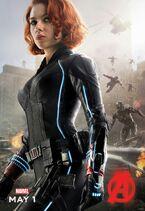Black Widow AOU Poster