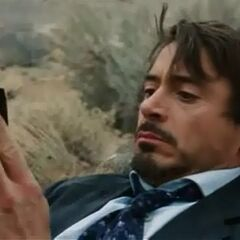 Tony during the Ten Rings attack.