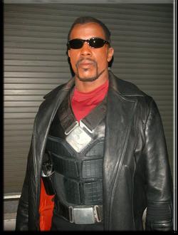 Trevor Jones in Blade Trinity