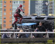 Deadpool Filming 8