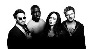 Defenders Textless B&W