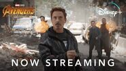Marvel Studios' Avengers Infinity War Now Streaming on Disney+
