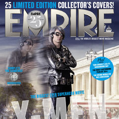 Quicksilver on the cover of <i>Empire</i>.