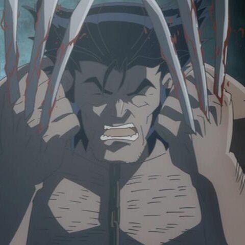 Logan after getting his Adamantium.