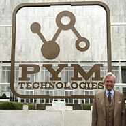 Michael Douglaa Filming Pym