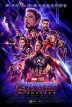 Avengers Endgame theatrical poster