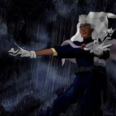 Storm in battle.