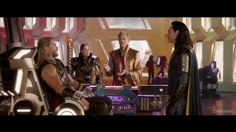 THOR RAGNAROK LOKI DOESN'T KNOW THOR MOVIE CLIP