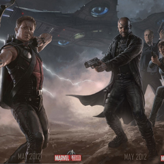 Promo banner of Hawkeye & S.H.I.E.L.D.